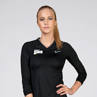 HL24 Nike Pro Fitted L/S V-Neck Tee