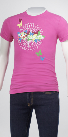 Girls Casa Butterfly Tee