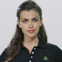 Women's Solid Polo